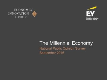 The Millennial Economy