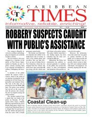 Caribbean Times 96th Issue - Tuesday 20th September 2016