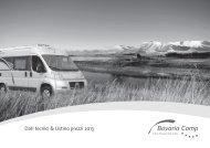 Dati tecnici & Listino prezzi 2013 - Knaus Tabbert Group GmbH