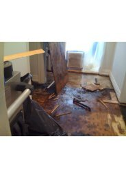 Water damage Insurance Claim South Florida
