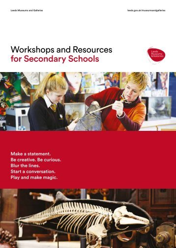 Workshops and Resources for Secondary Schools