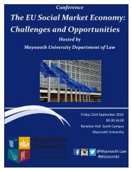 The EU Social Market Economy Challenges and Opportunities