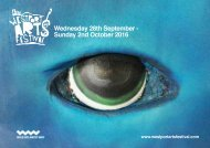 Wednesday 28th September - Sunday 2nd October 2016
