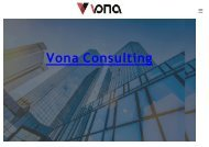 Vona Consulting China Manufacturing Company