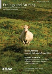Ecology and Farming - ifoam