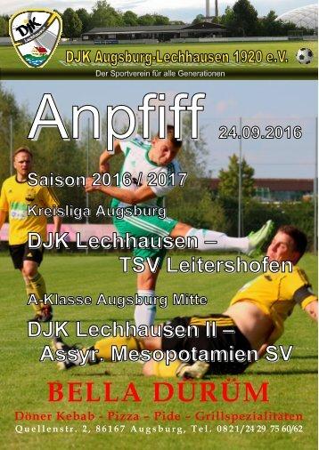 Anpfiff_2016-09-24 - DJK Lechhausen