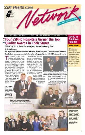 November/December - SSM Health Care
