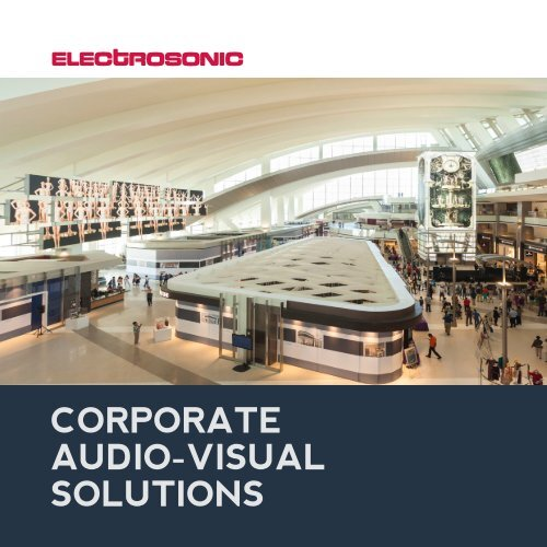 Audio Visual Corporate Solutions Brochure