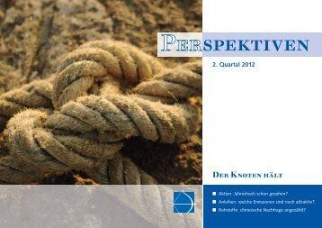 Der Knoten hält - I.C.M. Independent Capital Management AG
