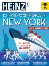 HEINZ Magazin Essen 10-2016