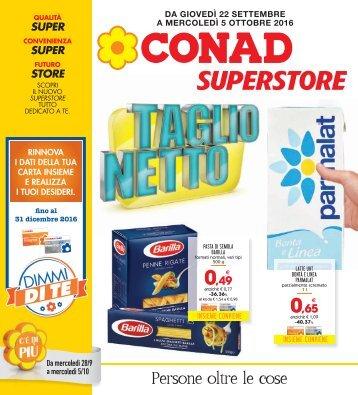 Conad Superstore Olbia 22-05 Ottobre 2016