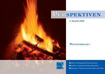4. Quartal 2008 Weltenbrand - I.C.M. Independent Capital ...
