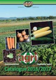 agri-Saaten catalogue 2016/2017
