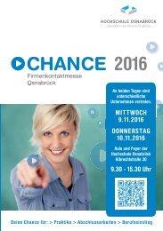 Chance Katalog 2016