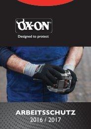 OX-ON Arbeitsschutz 2016/2017