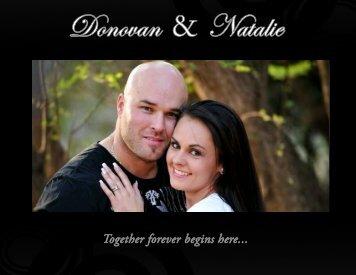 Natalie and Donovan