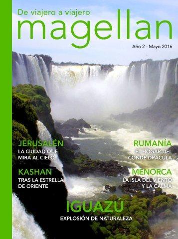 Revista de viajes Magellan - Mayo 2016