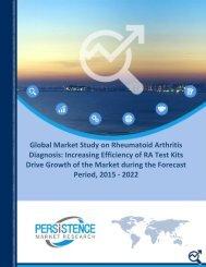 Rheumatoid Arthritis Diagnosis Tests Market by Segments