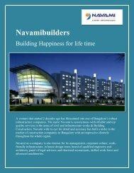 3 BHK Luxurious Apartments in CBD Bangalore