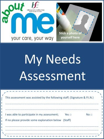 client self assessment