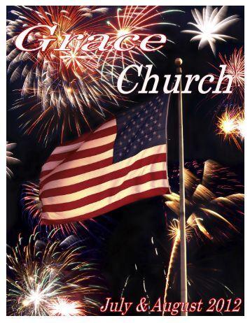 July-August 2012 Newsletter - Grace Church — New Glarus ...