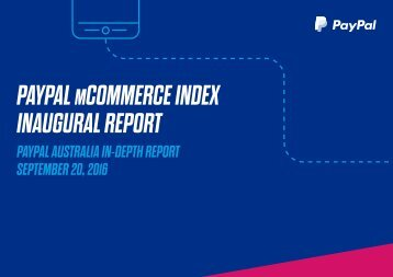 PAYPAL MCOMMERCE INDEX INAUGURAL REPORT