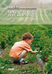 ifoam annual reportS 2005 and 2006