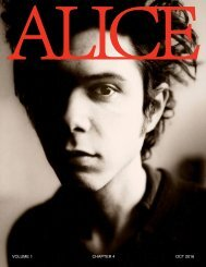 Alice Magazine NYC - Chapter 3