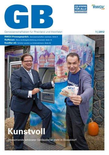 Genossenschaftsblatt 1/2012 - RWGV