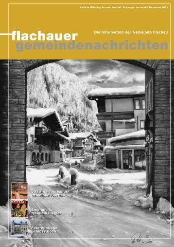 Ausgabe: 2005 (0 bytes) - Flachau - Salzburg.at