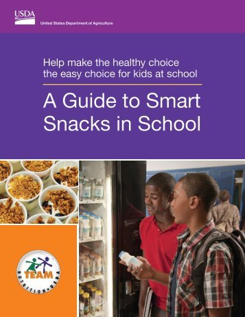 A Guide to Smart Snacks in School