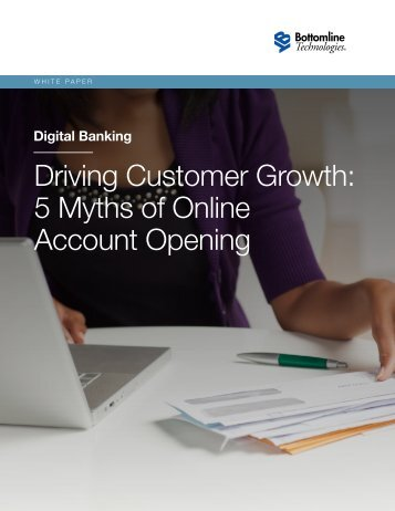 5 Myths of Online Account Opening