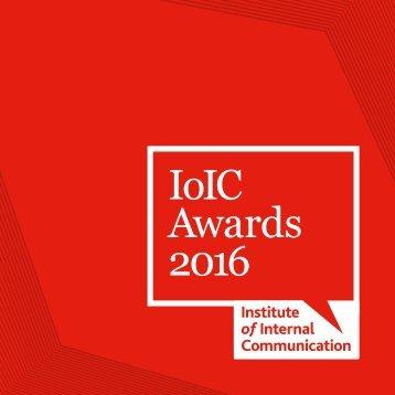 IoIC Awards 2016