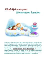 Honeymoon Tour Packages from Ahmedabad on Abroad Tour