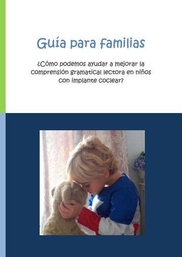 Guía para familias