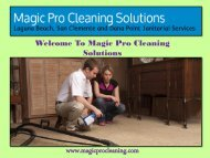 Vacuum Cleaners Dana Point, CA|Magic Pro Cleaning Solutions