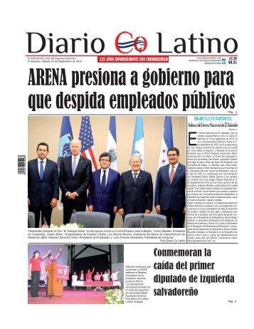 Edición 24 de Septiembre de 2016