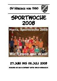Mittwoch, 02.07.2008 - SV Hönisch