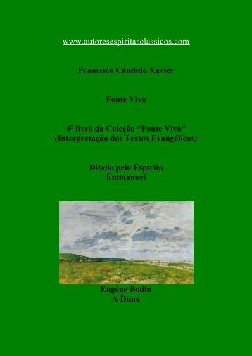 Livro - Chico Xavier - fonte viva