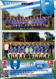 SV Unterweissach - VfL Winterbach & SV Unterweissach II - VfL Winterbach II