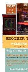 Brother2Brother retreat skil - 2017