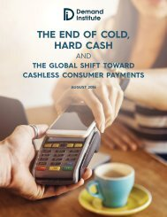 THE END OF COLD HARD CASH