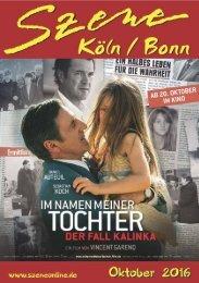 Szene Köln-Bonn, Ausgabe 10.2016
