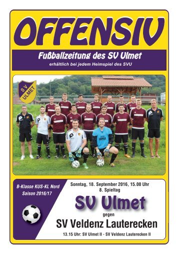 Offensiv: SV Ulmet gegen SV Feldenz Lauterecken