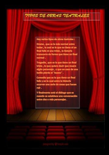 Tipos de obras teatrales