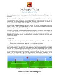 Goalkeeper Tactics