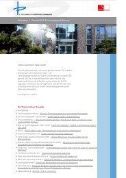 Newsletter 3. Quartal 2008 Technologiepark Bremen - Der ...