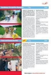 Weitere Angebote: www.erlebnis-schweiz.com - Autobus AG Liestal