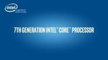 7th generation intel® core processor