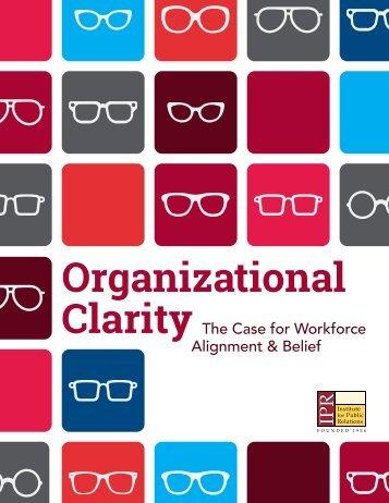 Organizational Clarity